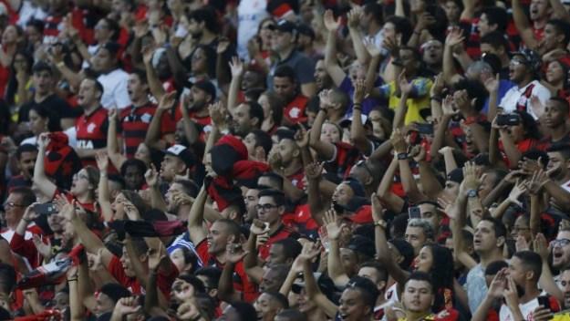 Torcida do Flamengo promete mais uma bela festa no Maracanã
