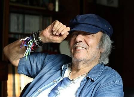 Erasmo Carlos acaba de completar 77 anos