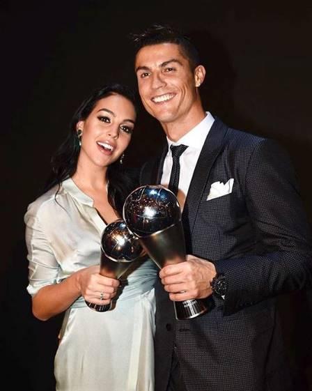 Cristiano Ronaldo e sua Georgina Rodriguez