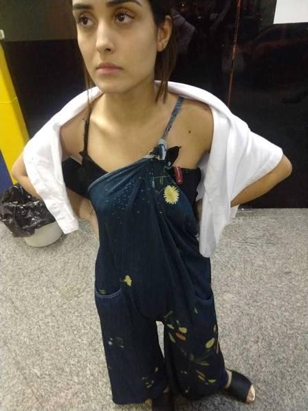 Leticia Almeida diz que foi agredida por ex e ex-sogra