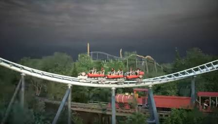 Maxx Force, projeto do Six Flags Great America