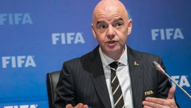 Presidente da Fifa, Gianni Infantino, anunciou mudanças na premiação