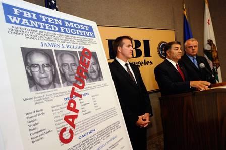 Em 2011, o FBI, a polícia federal americana, prendeu James