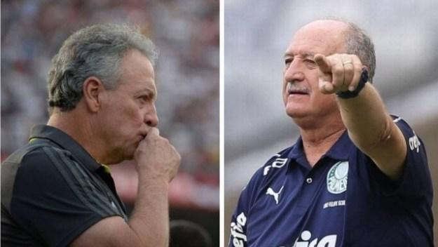 Abel Braga, do Flamengo, entrou no top 10 e Felipão segue líder