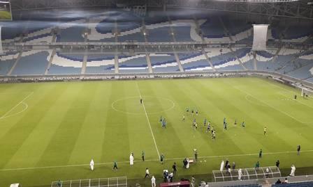 Estádio Al Wakrah será palco da final da Copa do Emir nesta quinta-feira