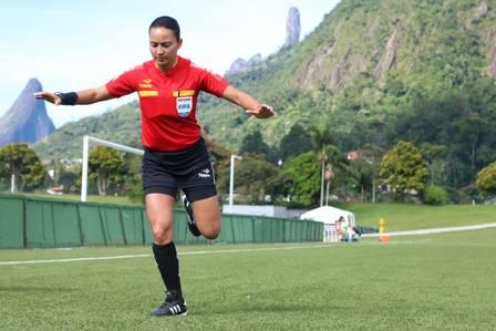 Edina Alves apitará Goiás x CSA