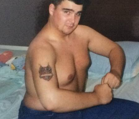 A primeira tatuagem, aos 16 anos