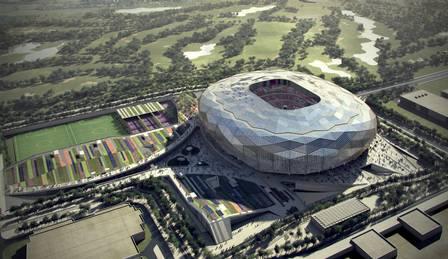 O Estádio Education City será o primeiro a ser inaugurado para Copa do Qatar 2022