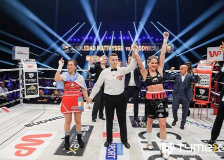 Brodnicka mantém o título após derrotar a argentina Matthysse