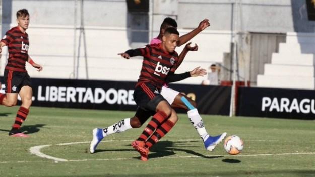 Flamengo e Independiente del Valle na Libertadores Sub-20