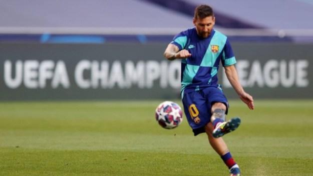 Manchester City poderá ser o destino de Messi -