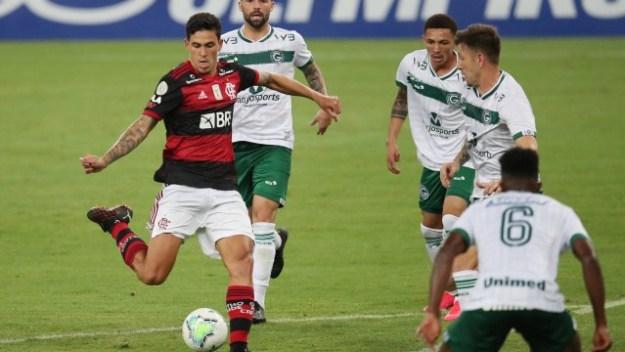 Brasileiro Championship - Flamengo v Goias