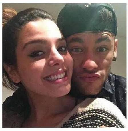 Neymar contou que já ficou com Lancellotti no passado