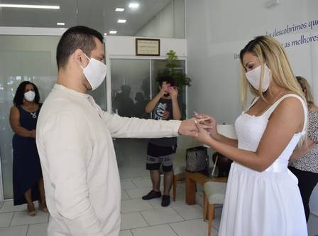 Andressa Urach getting married in civil with Thiago Lopes
