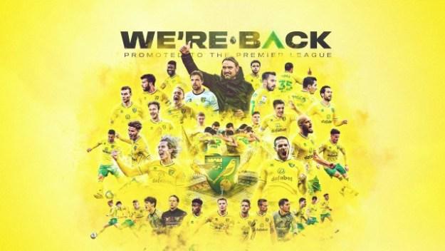 Norwich está de volta à elite