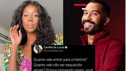 Camilla de Lucas elogia Gil, do 'BBB 21', e apaga post após críticas - TV e  Lazer - Extra Online