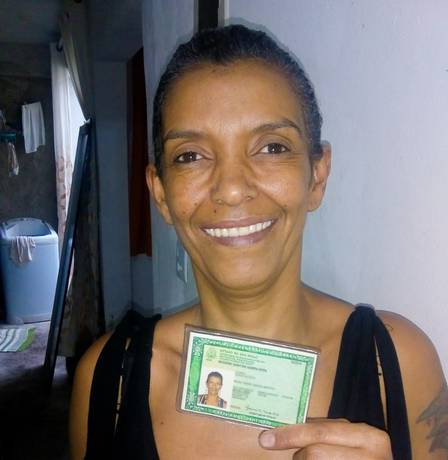 Josiene Santos managed to have RG 26 years after being arrested