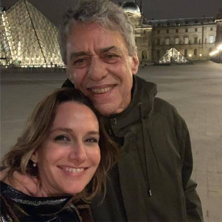 Carol Proner and Chico Buarque