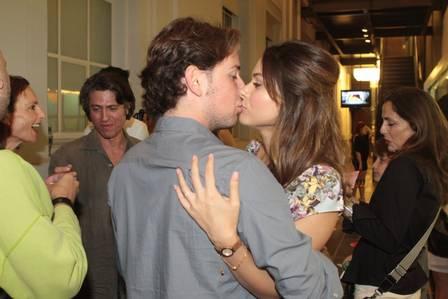 Fernada Machado com o namorado