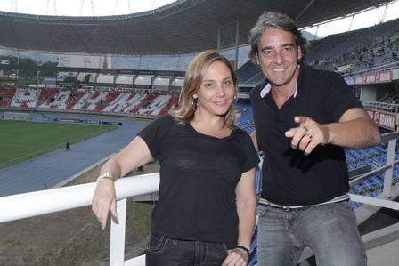 Alexandre Borges e Heloísa Périssé
