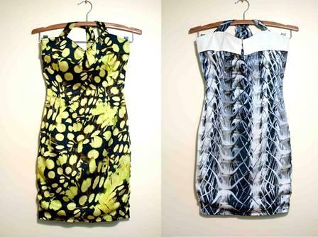 Inspiração tropical nos vestidos da turnê