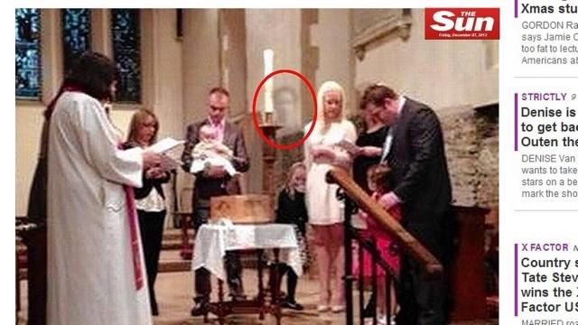 Família encontrou imagem do avô 'fantasma' durante batizado na família