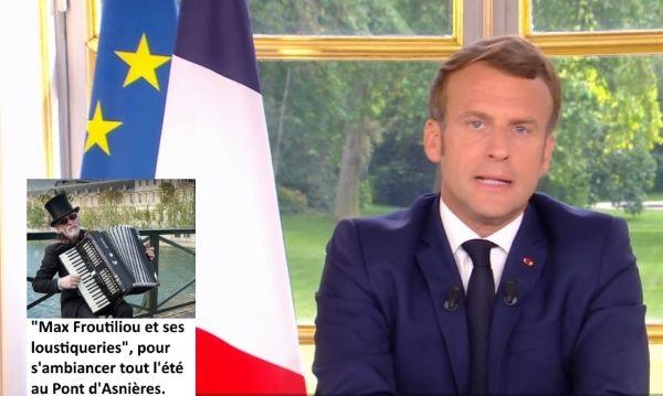 Macron-Deconfinement