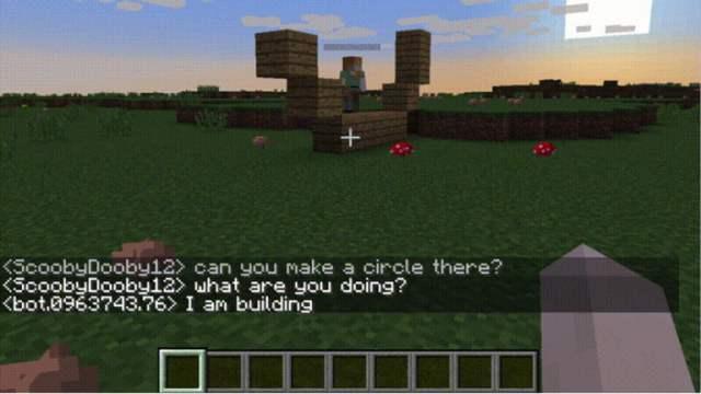 facebook minecraft ai asistentes aprendizaje de máquina minecraftai2