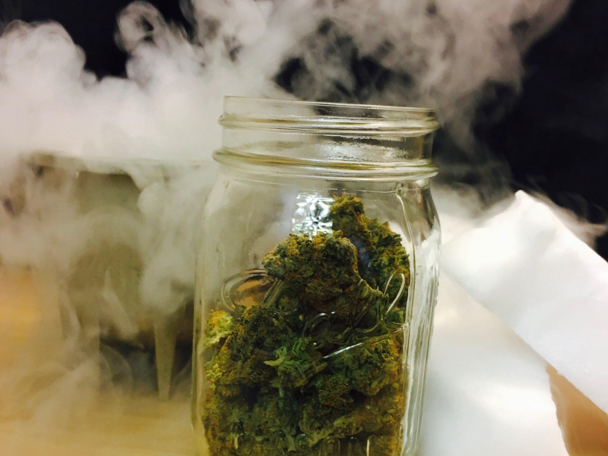 Super-Cooled QWET Wash for Cannabis Extraction Using Dry Ice