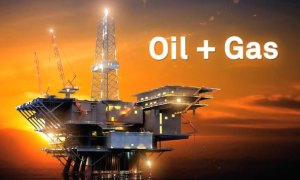 Oil and Gas offshore platform