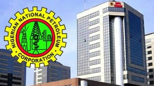 NNPC logo and tower