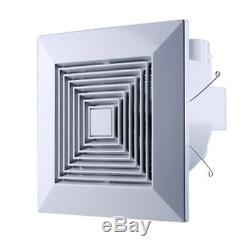 square ventilation extractor exhaust fan kitchen bathroom ceiling wall mount