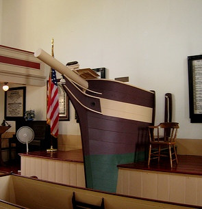 A Whale of a Pulpit!  (3/5)