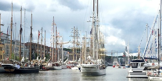 Suuret purjelaivat tulossa jälleen Turkuun ensi vuoden kesäksi