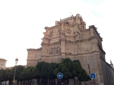 The gorgeous exterior of San Jeronimo Monastery, Granada.