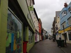 Penzance high street.