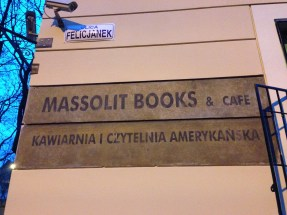 The famous Massolit Book Shop and Cafe.