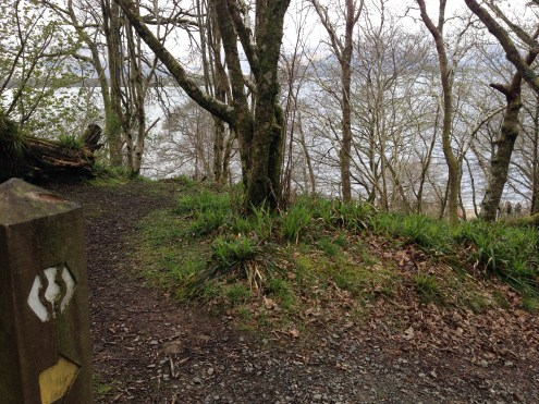 Continuing on the West Highland Way.