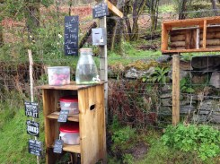 "A ""Wee Treat"" stand to help stock up on supplies."