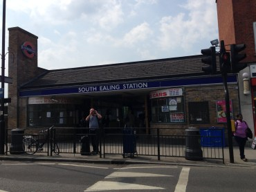 South Ealing Station today.