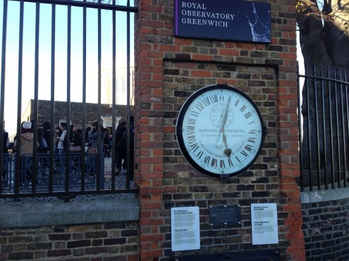 The Shepard Gate Clock at the Royal Observatory.