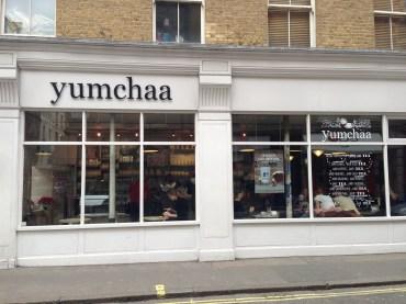 Yumchaa in Soho.
