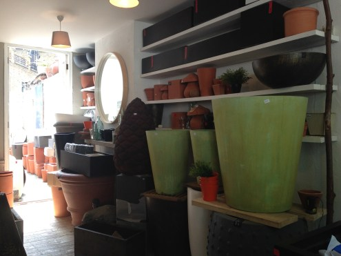 Gardening pots for sale.