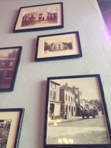 Historic photos of The Red Lion and Ealing Studios.