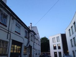 Near 930pm and the sun still out at Ealing Studios.