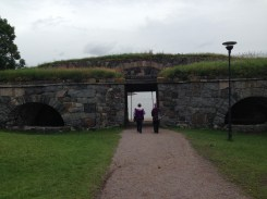The King's Gate which overlooks the water.