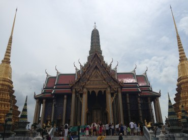 The Grand Palace of Bangkok.