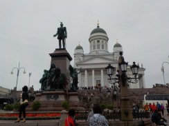 From the square, Helsinki Cathedral.