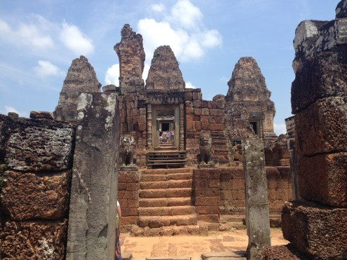 East Mebon's entrance.