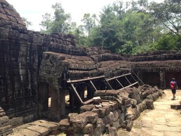 The inside of Banteay Kdei.